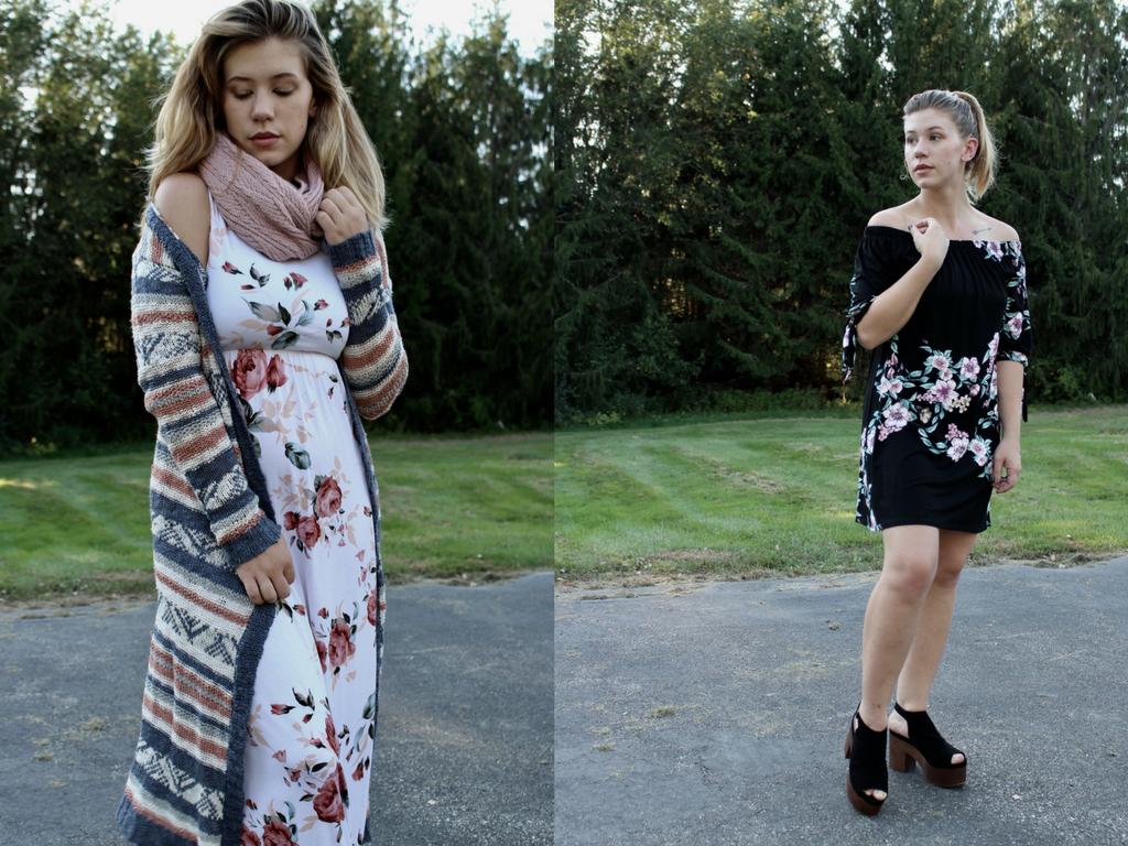 878547b4a0f0 Styling a Summer Dress for Fall! - Hanna J Smith