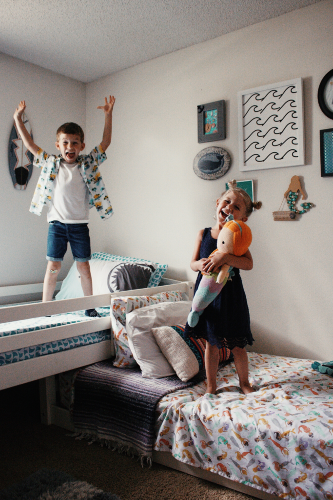 Shared Boy And Girl Bedroom Revamped Hanna J Smith
